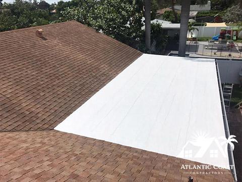 Flat Roof Waterproofing Photos Atlantic Coast